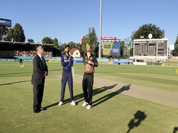 Indian skipper Virat Kohli and Australian captain Aaron Finch  (Image: BCCI's Twitter)