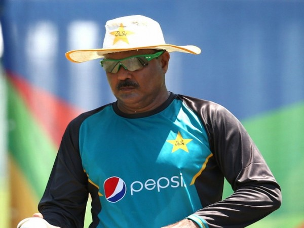 Head coach of Pakistan U19 Ijaz Ahmed (Image: PCB Media's Twitter)