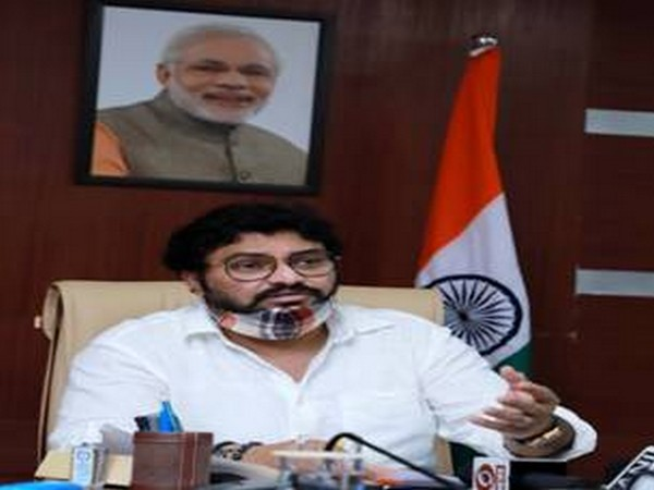 Minister of State for Environment, Forest and Climate Babul Supriyo