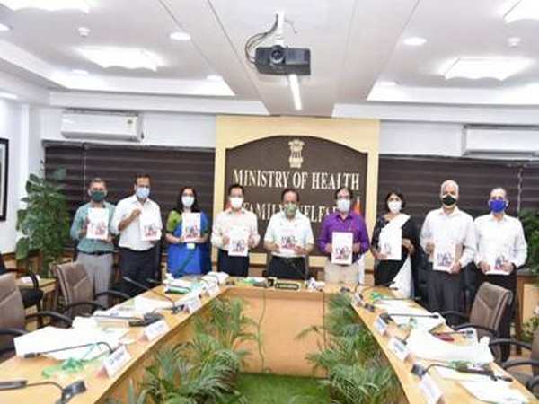 """Harsh Vardhan while releasing the document titled- """"Chasing the Virus: A Public Health Response to the COVID 19""""."""