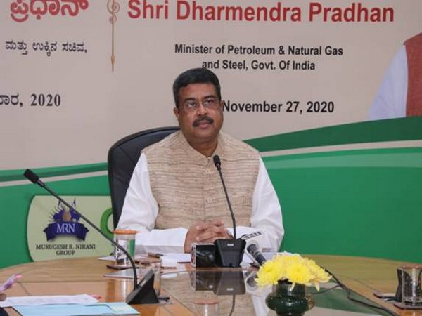 Minister for Petroleum and Natural Gas and Steel Dharmendra Pradhan (Photo/PIB)