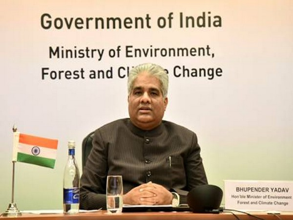 The Minister for Environment, Forest and Climate Change, Bhupender Yadav.
