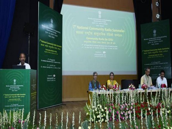 Amit Khare, Secretary, Ministry of Information and Broadcasting speaking during the event on Thursday. (Photo/PIB)