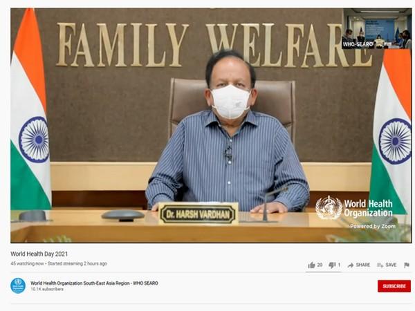 Union Health Minister Harsh Vardhan (Pic credit: PIB)
