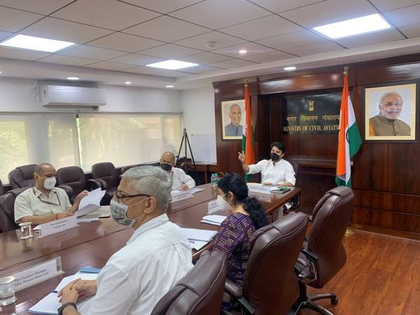 Union Minister of Civil Aviation Jyotiraditya Scindia. (Photo/PIB)