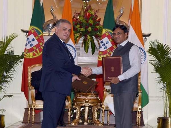 India, Portugal exchange MoU to develop National Maritime Heritage Complex at Lothal. Photo/ANI