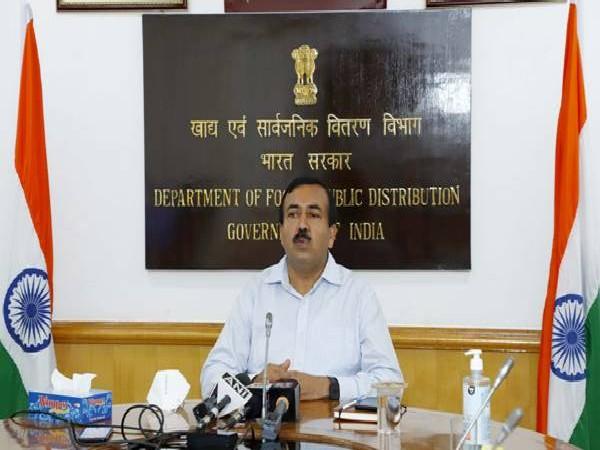 Sudhanshu Pandey, Secretary, Food and Public distribution (Photo/PIB)