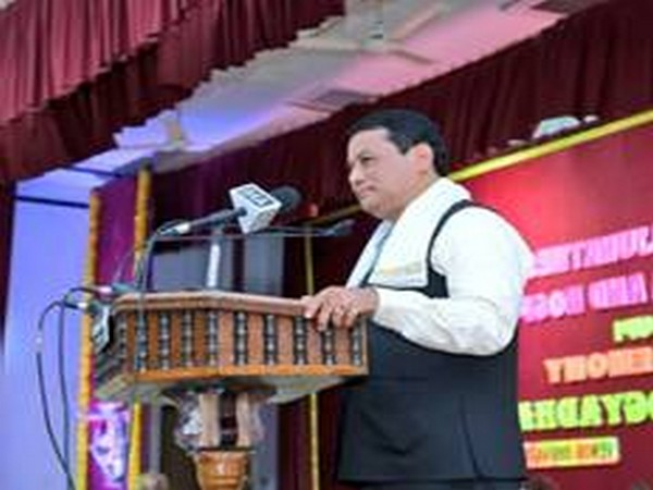 Union Ports, Shipping and Waterways Minister Sarbananda Sonowal on the event (Photo/PIB)