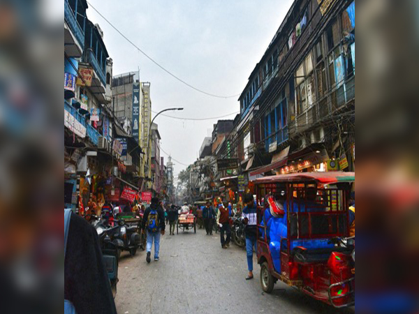 A busy lane of Old Delhi (Photo/ANI)