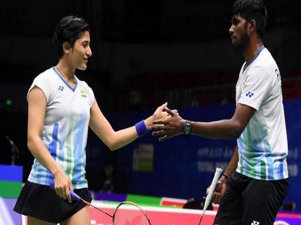 Ashwini Ponnappa and Satwiksairaj Rankireddy (Image: BAI Media's Twitter)