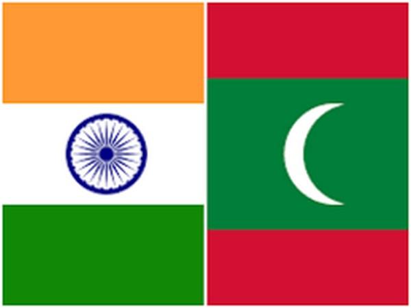 India and Maldives flag