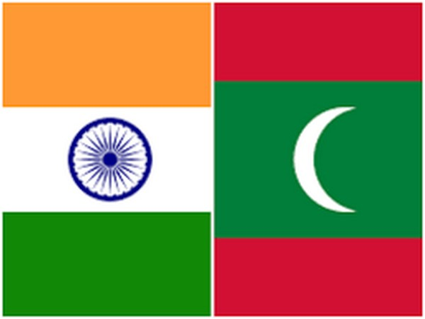 India and Maldives flags