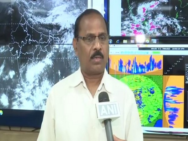 Indian Meteorological Department Meteorologist Rajarao while speaking to ANI on Wednesday. Photo/ANI