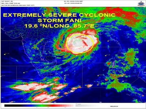 Cyclone Fani (IMD photo)
