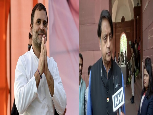 Rahul Gandhi and Shashi Tharoor called Pragya Thakur's Godse comment intentional. Photo/ANI