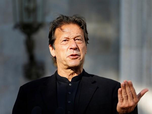 Pakistan Prime Minister Imran Khan (File Image/ANI)