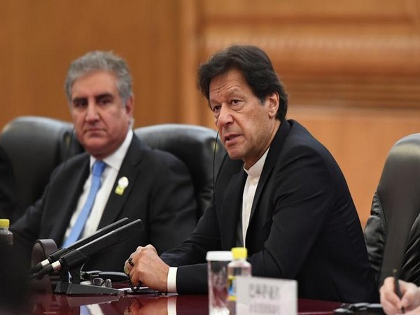 Pakistan Prime Minister Imran Khan at a meeting with Chinese President Xi Jinping (not pictured) in Beijing last year.