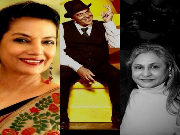 Shabana Azmi, Dharmendra and Jaya Bachchan