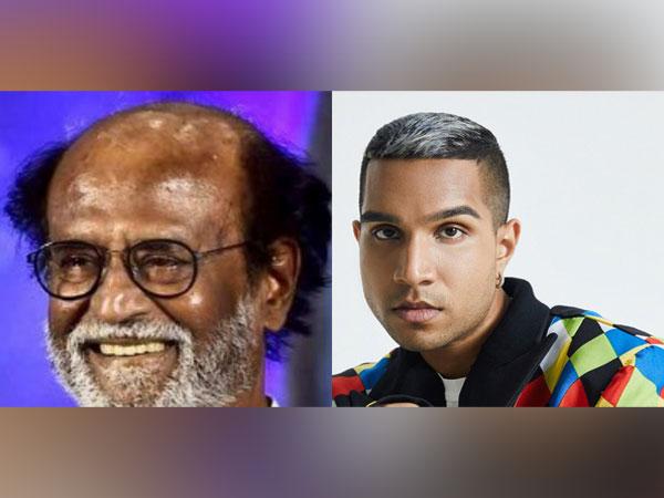 Rajinikanth and Yung Raja