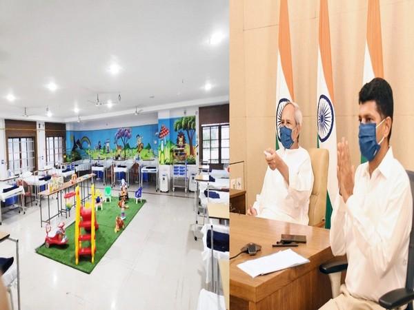 Odisha Chief Minister Naveen Patnaik inaugurates 200-bed COVID Hospital at Bhawanipatna.