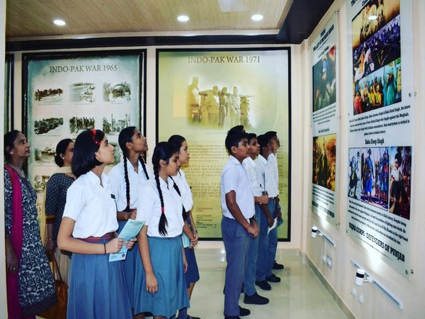 Children at Vajra Museum. Photo courtesy: Indian Army
