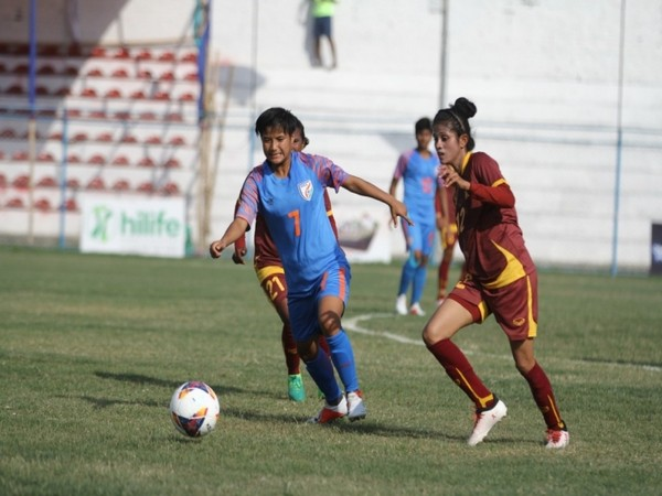 India and Sri Lanka in action (Photo/AIFF)