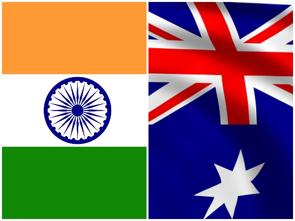 Flags of India and Australia (representative Image)