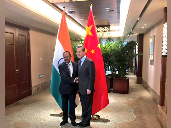 National Security Advisor (NSA) Ajit Doval and Chinese State Counsellor and Foreign Minister Wang Yi (File photo)