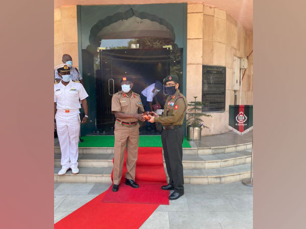 Kenya Defence Forces visits Indian Army museums (Photo Credit: Twitter/ Westerncomd_IndianArmy)