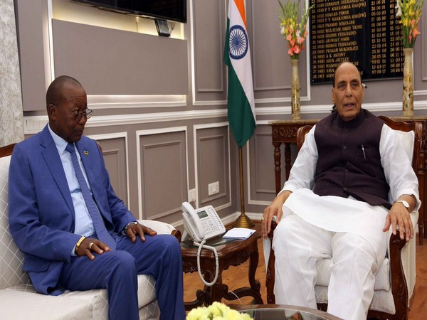 Rajnath Singh held talks with Mozambique Defence Minister Atanasio Salvador M'tumuke in New Delhi on Friday