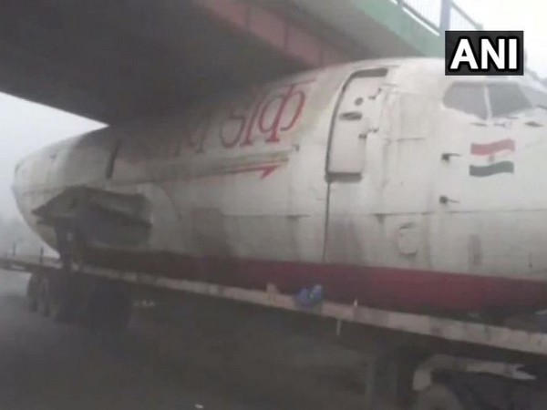 The visual of the incident. Photo/ANI