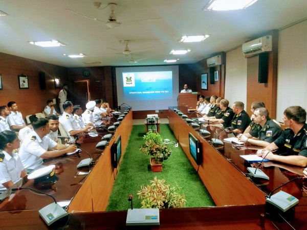 A joint review meeting was held at the Naval Air Station INS Hansa in Goa