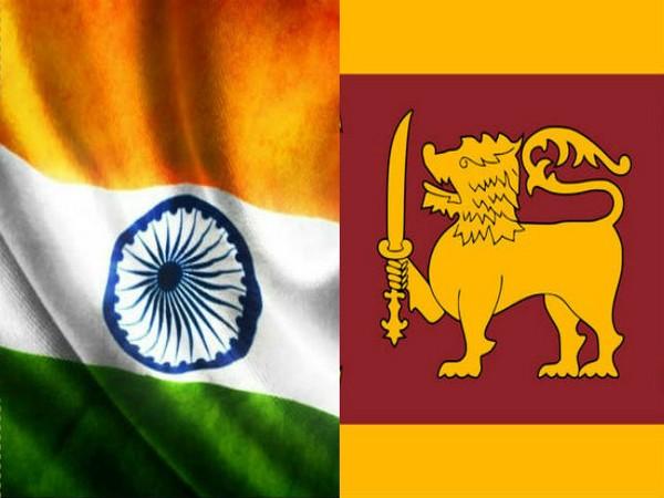 India Sri Lanka flags