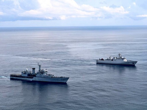India, Indonesia navies conduct Passage Exercise in southern Arabian sea (Photo Credit: Twitter/Indian Navy)