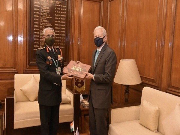 US envoy meets Indian Army chief (Photo Credit: Twitter/ Indian Army)