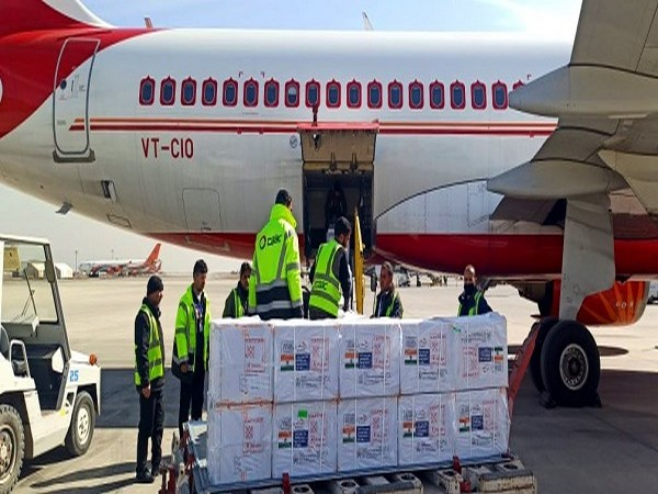 Indian-made vaccine reach Afghanistan (Photo Credit: Twitter/S Jaishankar)