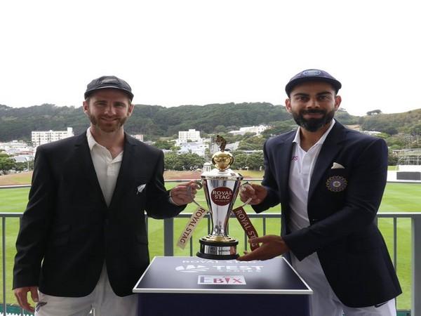 Kane Williamson and Virat Kohli (Photo courtesy: BCCI Twitter)