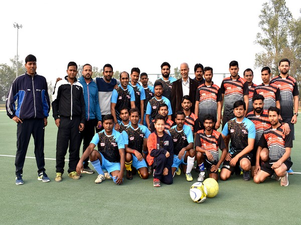 MCF organises inter-departmental football tournament