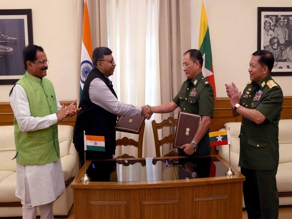 India, Myanmar exchanged an MoU on defence co-operation in New Delhi on Monday
