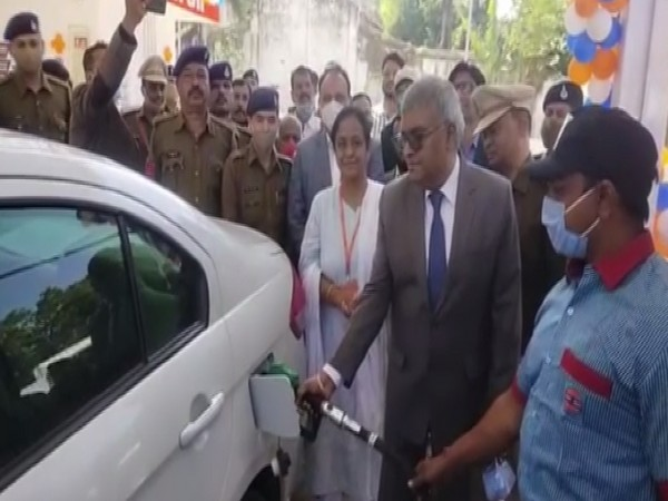 A petrol pump outside Indore's Central Jail was started from Saturday.