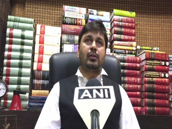 Computer Baba's lawyer Vibhor Khandelwal (File Photo)