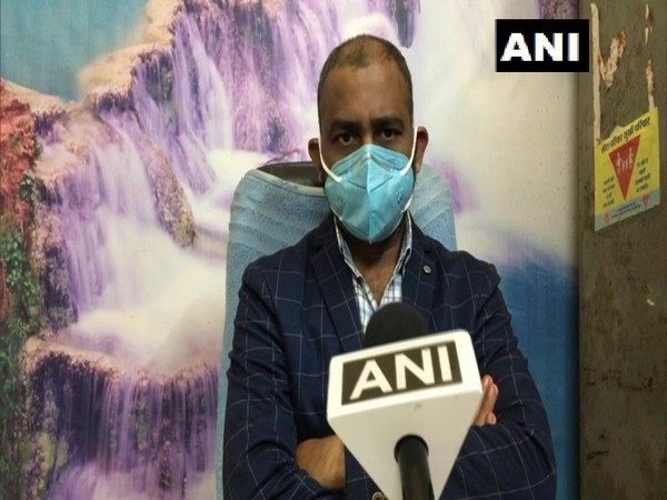 Dr. Amit Malakar, Indore district Covid-19 nodal officer speaking to ANI on Wednesday. (Photo/ANI)