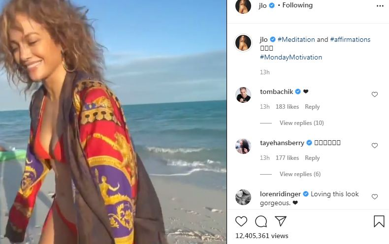 Jennifer Lopez Reveals How Different She Looks Without Makeup in Instagram Video