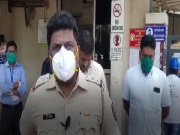 Pradeep Kasbe, Police Inspector, Palghar. Photo/ ANI