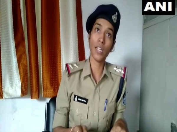 Sub-Inspector,Nidhi Mittal talking to ANI in Indore on Sunday