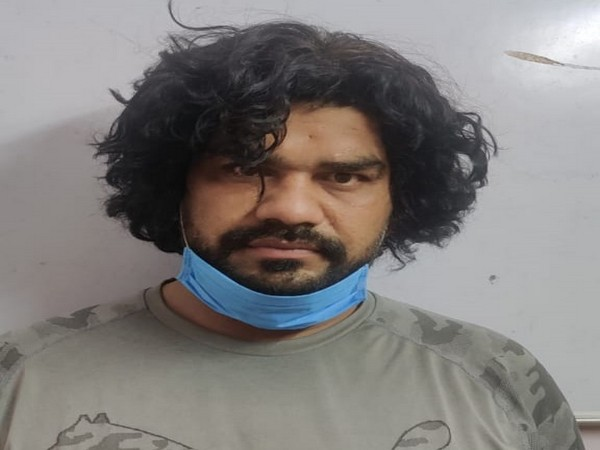 The man has been identified as Mohit Tokas. Photo/ANI