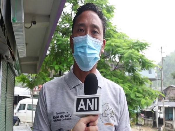 Lingdam Kame, president of All Arunachal Student Union of Chandigarh (Photo/ANI)
