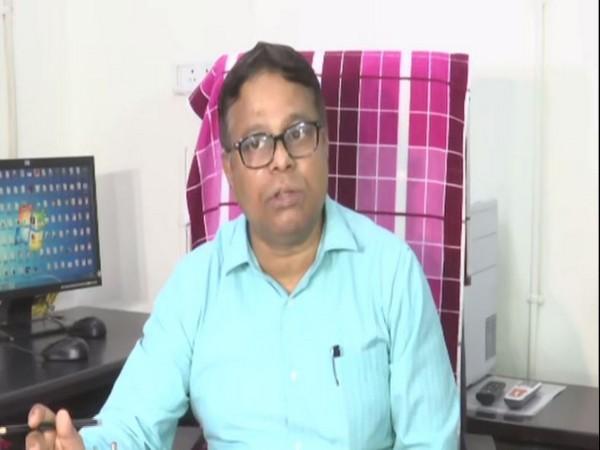 IMD director Jayant Sarkar speaks to ANI in Ahmedabad on Saturday. [Photo/ANI]