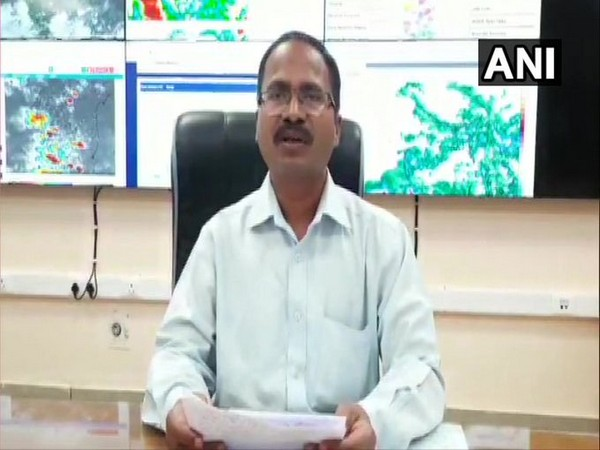 CS Patil, Director, India Meteorological Department (IMD), Bengaluru speaks to ANI on Sunday. [Photo/ANI]