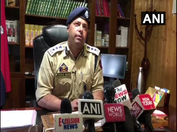 Senior Superintendent of Police (SSP) Sopore, Javeed Iqbal speaking to ANI in Jammu and Kashmir.